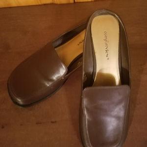 Women's Comfortview Brown Low Heel Casual Comfort